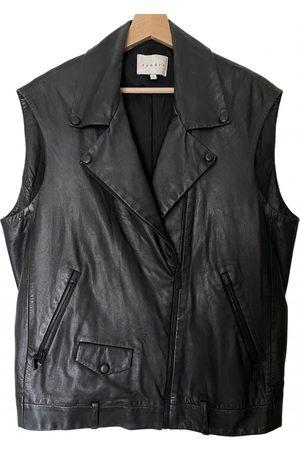 Sandro Women Leather Jackets - \N Leather Jacket for Women