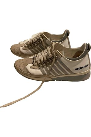 Dsquared2 251 leather low trainers