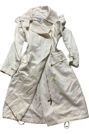 Max Mara Women Trench Coats - \N Cotton Trench Coat for Women