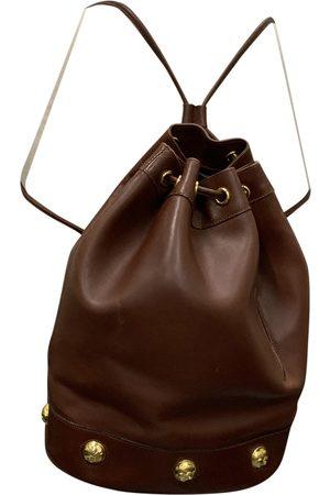 Salvatore Ferragamo Women Rucksacks - \N Leather Backpack for Women