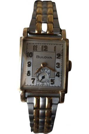 BULOVA VINTAGE \N Yellow Watch for Women