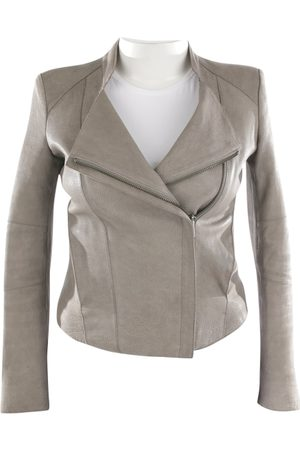 Helmut Lang Women Leather Jackets - \N Leather Leather Jacket for Women