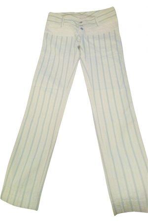 Custo Barcelona Women Pants - \N Cotton Trousers for Women