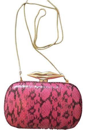 Diane von Furstenberg Women Clutches - \N Leather Clutch Bag for Women