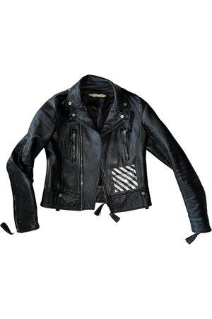 OFF-WHITE Women Leather Jackets - \N Leather Leather Jacket for Women