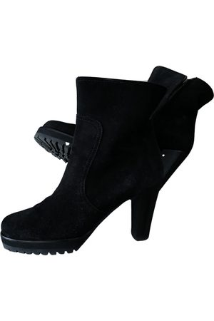 Venise Collection \N Leather Ankle boots for Women