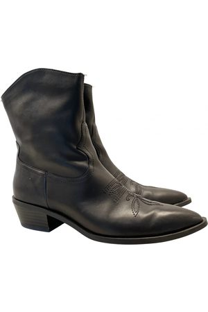 Bershka \N Leather Ankle boots for Women