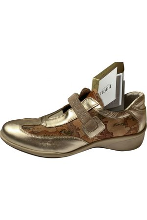 Alviero Martini \N Leather Trainers for Women