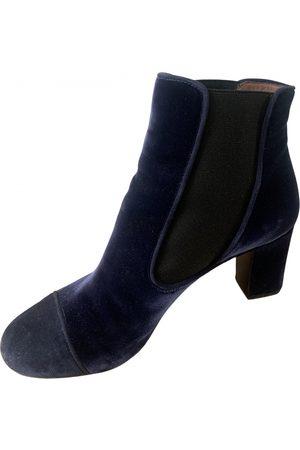 Tabitha Simmons Women Ankle Boots - \N Velvet Ankle boots for Women