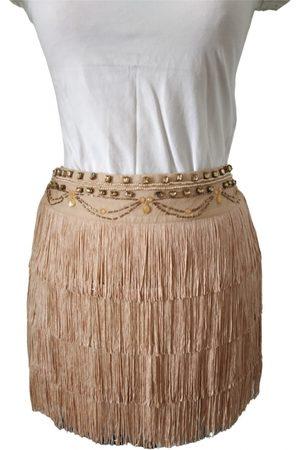 Relish Silk mini skirt