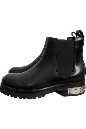 Alexander McQueen \N Leather Ankle boots for Women