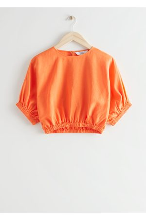 & OTHER STORIES Boxy Crop Top