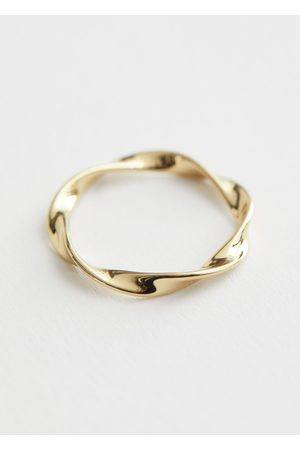 & OTHER STORIES Organic Twisted Ring