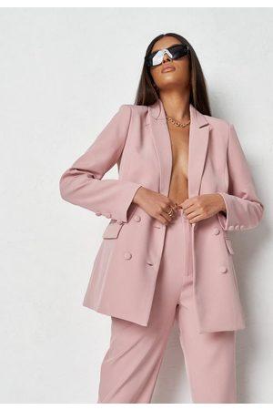 Missguided Dusky Co Ord Tailored Longline Blazer