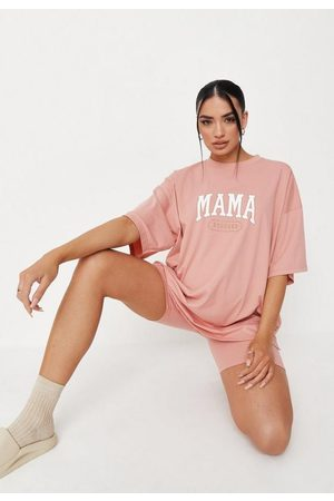Missguided Co Ord Mama Maternity T Shirt