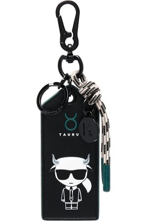 Karl Lagerfeld K/Zodiac Taurus keychain