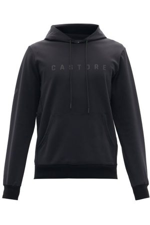 CASTORE Men Sweatshirts - Garcia Logo-print Jersey Hooded Sweatshirt - Mens