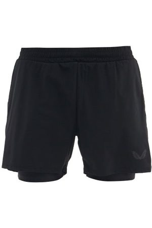 CASTORE Men Sports Shorts - Double-layer Running Shorts - Mens