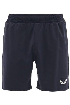 "Castore - Logo-print 4"" Shorts - Mens - Navy"