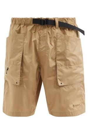 Men Sports Shorts - Goldwin - Element Mount Ripstop Cargo Shorts - Mens