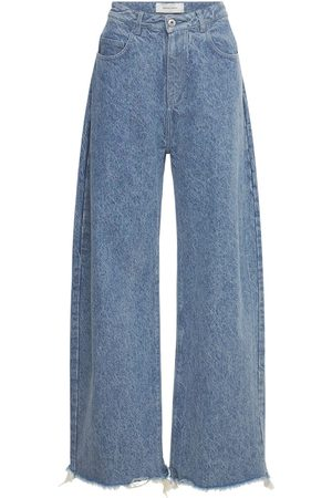 MARQUES'ALMEIDA Organic Cotton Denim Boyfriend Jeans