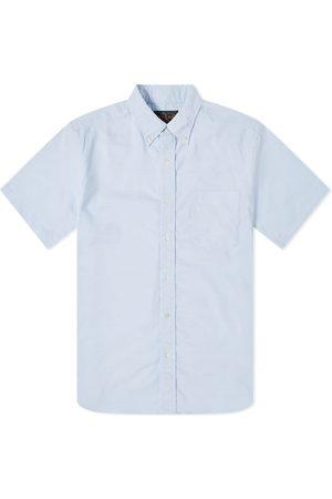 Beams Short Sleeve Button Down COOLMAX® Oxford Shirt