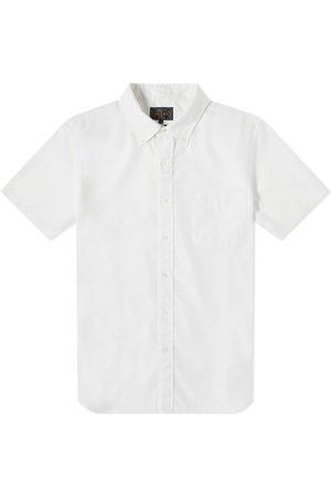 Beams Short Sleeve Button Down COOLMAX® Linen Shirt