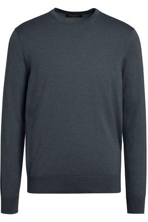 Ermenegildo Zegna Men Sweatshirts - Long-sleeved crew-neck pullover