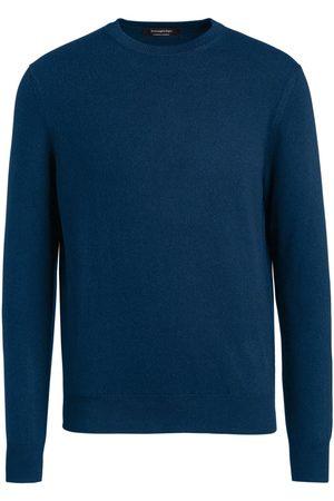 Ermenegildo Zegna Men Sweatshirts - Crew-neck cashmere pullover