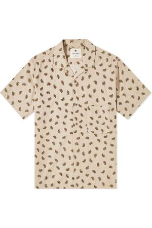 Snow Peak OG Cotton Poplin Paisley Shirt