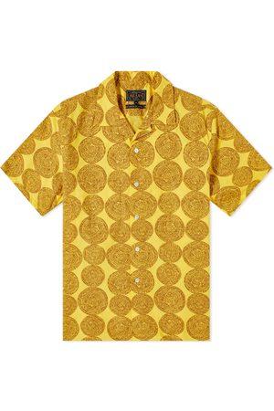 Beams Men Short sleeves - Short Sleeve Vacation Dobby Print Shirt