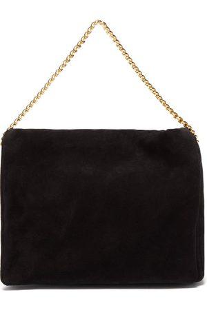 Neous Women Shoulder Bags - Orbit Chain-strap Suede Shoulder Bag - Womens