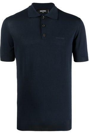Dsquared2 Men Polo Shirts - Spread-collar polo shirt