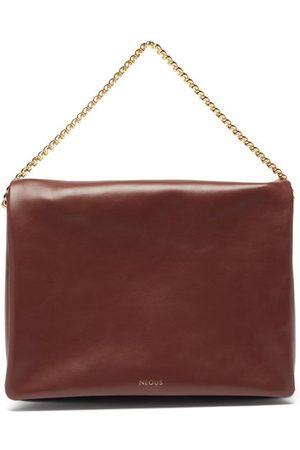 Neous Orbit Chain-strap Suede Shoulder Bag - Womens