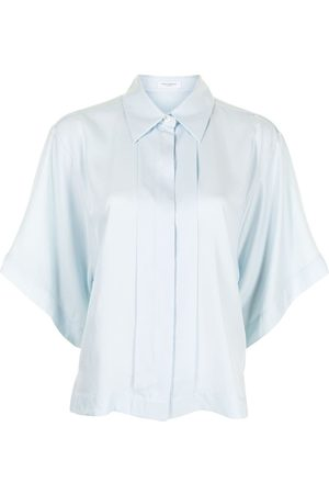 Equipment Chaney short sleeve blouse
