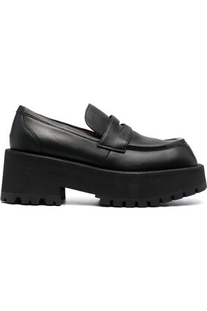 Marni Square-toe platform loafers