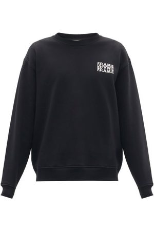 Frame Logo-print Cotton-blend Jersey Sweatshirt - Mens
