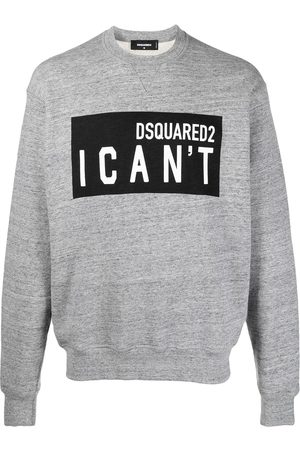 Dsquared2 Slogan-print sweatshirt - Grey