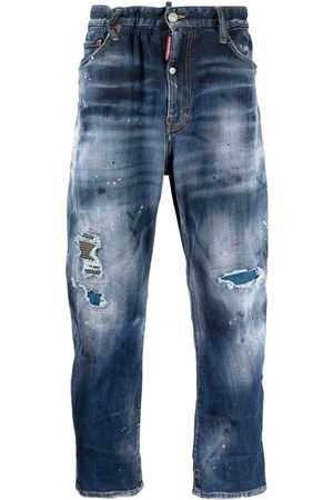 Dsquared2 Mid wash distressed-effect jeans