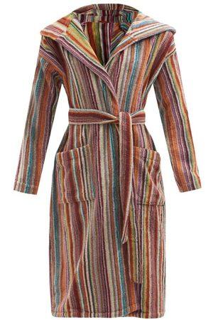 Missoni Women Bathrobes - Jazz Hooded Cotton-terry Bathrobe - Womens - Multi