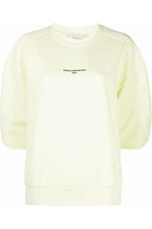 Stella McCartney Logo-print cropped sweatshirt
