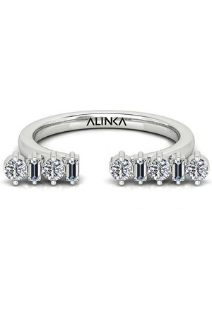 ALINKA 18kt white gold AMALFI diamond ring