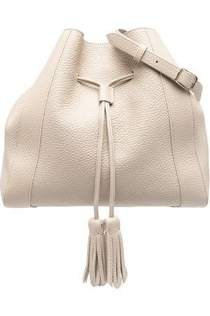 Mulberry Women Shoulder Bags - Small Millie grained-leather bag - Neutrals