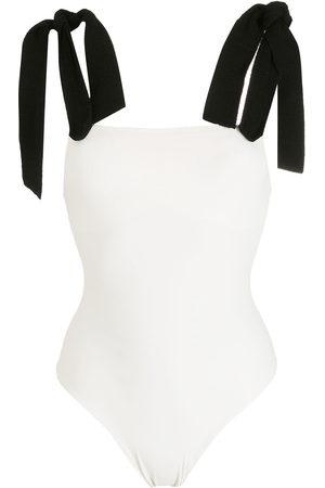 CLUBE BOSSA Women Swimsuits - Lavello two-tone swimsuit