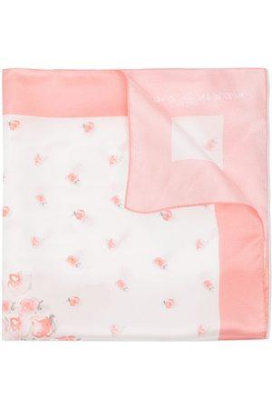 Emporio Armani Silk floral-print scarf