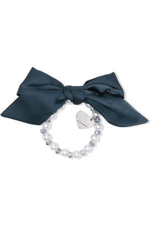MONNALISA Faux pearl-detail bracelet - Neutrals