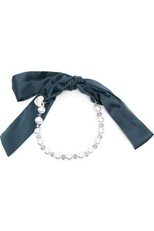 MONNALISA Faux pearl-detail bracelet