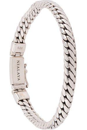 Nialaya Rope-chain sterling bracelet