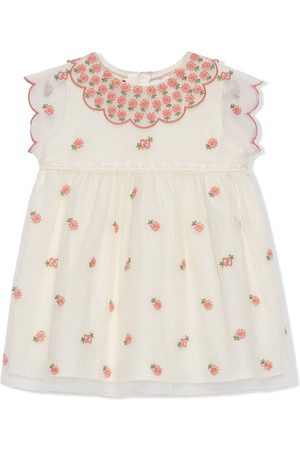 Gucci Baby Printed Dresses - Floral tulle dress