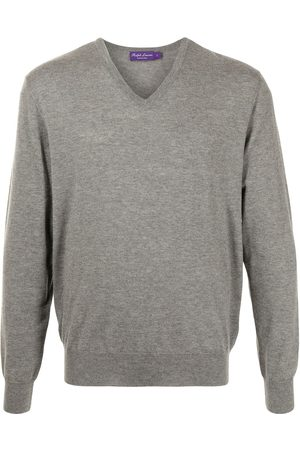 Polo Ralph Lauren V-neck cashmere-knit sweater - Grey